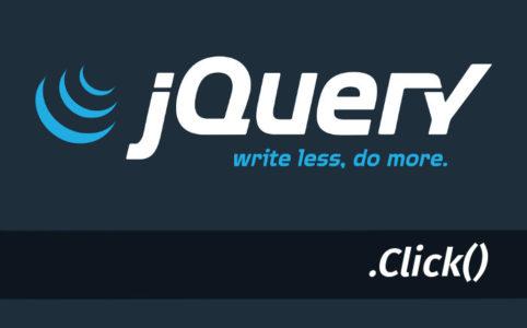 jquery click